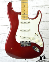 Vintage 1972 Fender Stratocaster Candy Apple Red w/HSC