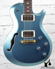 PRS S2 Singlecut Semi Hollow Custom Color Frost Blue Metallic