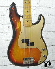 Vintage 1977 Fender Precision Bass Sunburst w/ Bag
