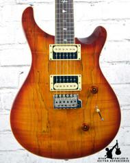 PRS Custom 24 Exotic Top Spalt Maple Vintage Sunburst w/ Bag (#6596)