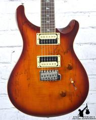 PRS Custom 24 Exotic Top Spalt Maple Vintage Sunburst w/ Bag (#6472)