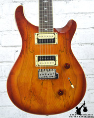 PRS Custom 24 Exotic Top Spalt Maple Vintage Sunburst w/ Bag (#8411)
