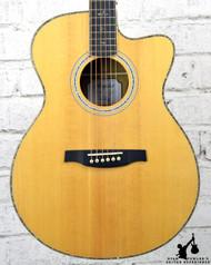 PRS SE A60E Acoustic Electric Guitar w/ Case (#6385)
