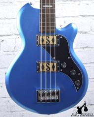 Supro Huntington II Bass Ocean Blue Metallic