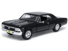 1966 Chevrolet Chevelle MAISTO SPECIAL EDITION Diecast 1:24 Scale - Black