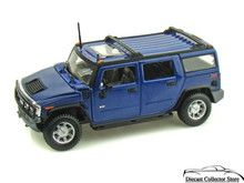 HUMMER H2 SUV Maisto Special Edition Diecast 1:27 Scale Blue