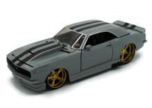 1968 Chevrolet Camaro Z/28 MAISTO MUSCLE Diecast 1:24 Scale Grey