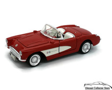 1957 Chevrolet Corvette SUNNYSIDE LTD / SUPERIOR Diecast 1:24 Scale Red