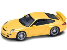 Porsche 997 GT3 SIGNATURE SERIES Diecast 1:43 Scale Yellow FREE SHIPPING