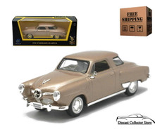 1950 Studebaker Champion ROAD SIGNATURE Diecast 1:43 Tan FREE SHIPPING