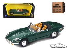 1971 Jaguar E-Type ROAD SIGNATURE Diecast 1:43 Scale Green FREE SHIPPING