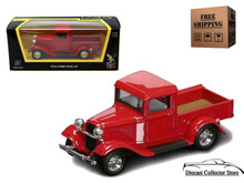 1934 Ford  Pickup ROAD SIGNATURE Diecast 1:43 Scale Red FREE SHIPPING