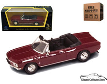 1969 Chevrolet Corvair Monza ROAD SIGNATURE Diecast 1:43 Burgundy FREE SHIPPING