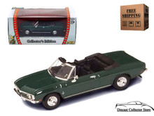 1969 Chevrolet Corvair Monza ROAD SIGNATURE Diecast 1:43 Green FREE SHIPPING