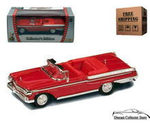1957 Mercury Turnpike Cruiser ROAD SIGNATURE Diecast 1:43 Red FREE SHIPPING