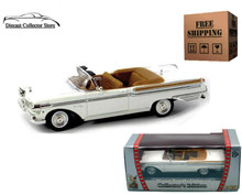 1957 Mercury Turnpike Cruiser ROAD SIGNATURE Diecast 1:43 White FREE SHIPPING