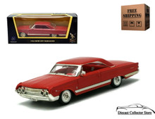 1964 Mercury Marauder  ROAD SIGNATURE Diecast 1:43 Red FREE SHIPPING