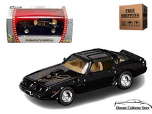 1979 Pontiac Firebird Trans Am ROAD SIGNATURE Diecast 1:43 Black FREE SHIPPING