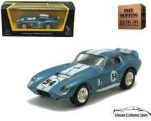 1965 Shelby Daytona Cobra Coupe ROAD SIGNATURE Diecast 1:43 D Blue FREE SHIPPING