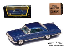 1964 Mercury Marauder  ROAD SIGNATURE Diecast 1:43 Scale Blue FREE SHIPPING