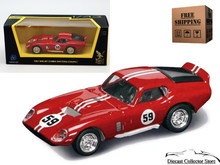 1965 Shelby Daytona Cobra Coupe ROAD SIGNATURE Diecast 1:43 Red FREE SHIPPING