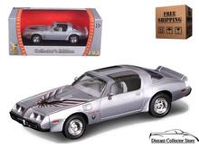 1979 Pontiac Firebird Trans Am ROAD SIGNATURE Diecast 1:43 Silver FREE SHIPPING