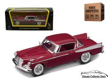 1958 Studebaker Golden Hawk ROAD SIGNATURE Diecast 1:43 Scale Claret