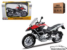 BMW R 1200GS MAISTO Diecast 1:12 Scale Red/Black FREE SHIPPING