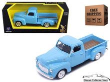 1950 GMC Pickup ROAD SIGNATURE Diecast 1:43 Scale Light Blue FREE SHIPPING