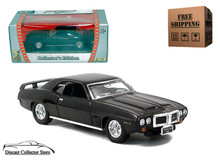 1969 Pontiac Firebird Trans Am ROAD SIGNATURE Diecast 1:43 Black FREE SHIPPING