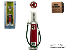 MOHAWK Vintage Cylinder Gas Pump ROAD SIGNATURE Diecast 1:18 Scale FREE SHIPPING