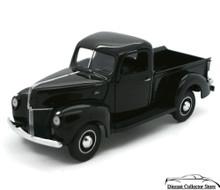 FRANKLIN MINT 1940 Ford Pickup Diecast 1:24 Scale Black w/Free Display