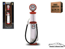 CORVETTE Vintage Cylinder Gas Pump ROAD SIGNATURE Diecast 1:18 Scale FREE SHIPPING