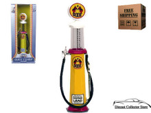 DIXIE Vintage Cylinder Gas Pump ROAD SIGNATURE Diecast 1:18 Scale FREE SHIPPING