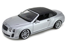 Bentley Continental Convertible MAISTO SPECIAL EDITION Diecast 1:18 Scale Silver