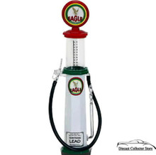 EAGLE Vintage Cylinder Gas Pump ROAD SIGNATURE Diecast 1:18 Scale FREE SHIPPING