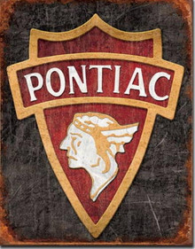 Metal - Tin Sign 1930 PONTIAC Vintage Style Garage Man Cave Sign