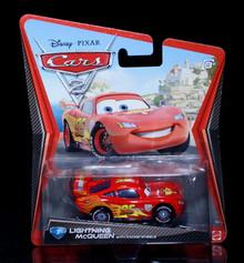 2010 Disney Pixar CARS 2 - LIGHTNING McQUEEN #3 Mattel