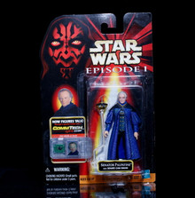 STAR WARS Action Figure SENATOR PALPATINE Comm Tech Chip EPISODE 1 Collection 1