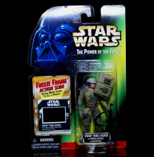 STAR WARS Action Figure ENDOR REBEL SOLDIER Freeze Frame Action Slide 1997 Free Shipping