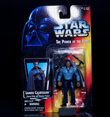 STAR WARS Action Figure LANDO CALRISSIAN - POTF 1995 FREE SHIPPNG