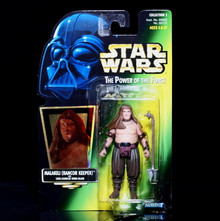 STAR WARS Action Figure MALAKILI (Rancor Keeper) - POTF 1997 Collection 2