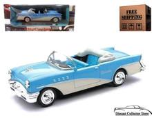 1955 Buick Century NEWRAY City Cruiser Diecast 1:43 Blue & White FREE SHIPPING