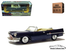 1959 Chrysler 300E NEWRAY City Cruiser Diecast 1:43 Scale Blue FREE SHIPPING