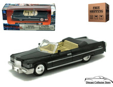1976 Cadillac Coupe De Ville  NEWRAY City Cruiser Diecast 1:43 Black FREE SHIPPING