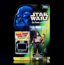 STAR WARS Action Figure MALAKILI Rancor Keeper Freeze Frame Action Slide TPOTF