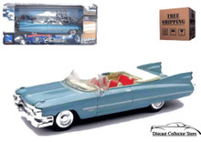 1959 Cadillac Series 62 NEWRAY City Cruiser Diecast 1:43 Sale Blue FREE SHIPPING