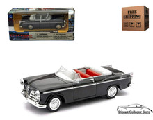 1955 Chrysler C-300 Convertible NEWRAY City Cruiser Diecast 1:43 Scale Black