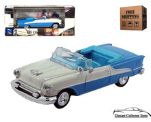 1955 Oldsmobile Super 88 NEWRAY City Cruiser Diecast 1:43 Blue/White FREE SHIPPING