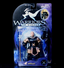 "WARRIORS OF VIRTUE Action Figure GRILLO Play'em 6"" 71007"